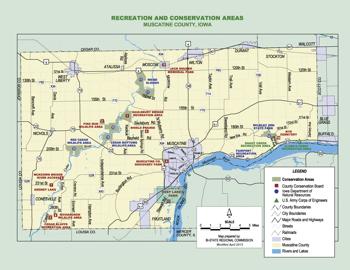 Deep Lakes Park Muscatine County Conservation Board