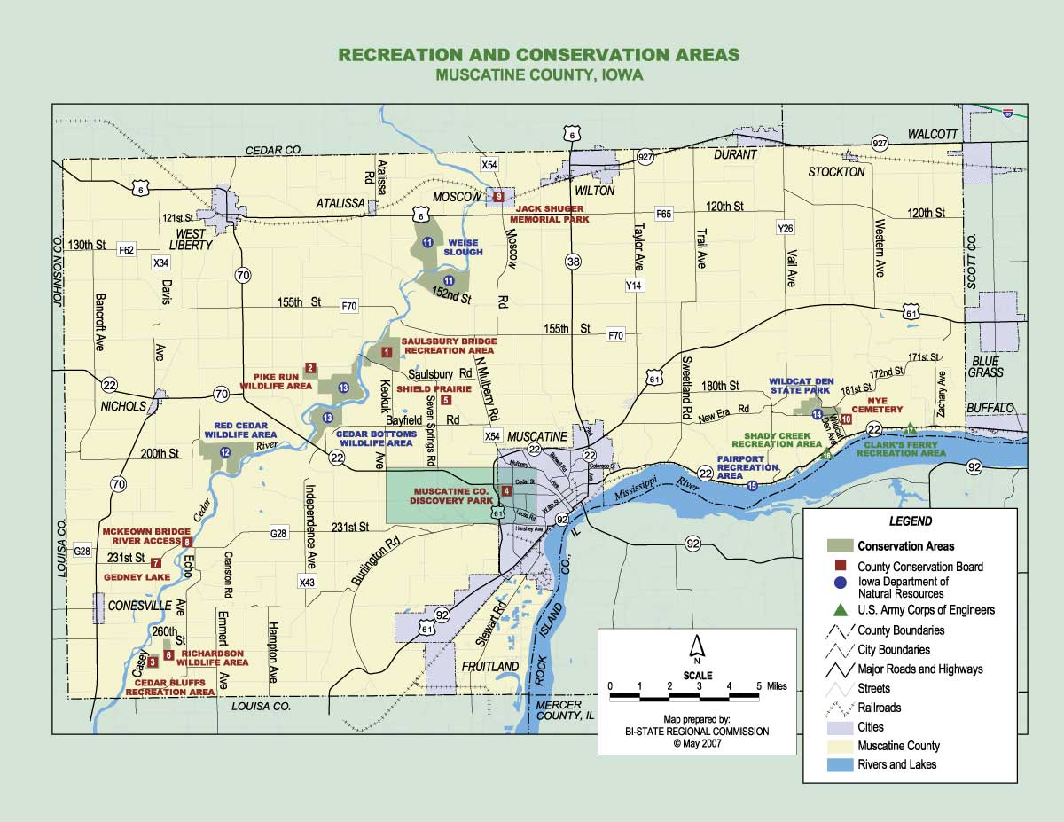 Discovery Park – Muine County Conservation Board on